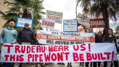 Photo of De Trans Mountain Pipeline is stilgelegd door protest burgers
