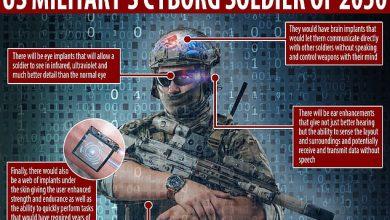 Photo of De realiteit van Transhumanisme, cyborg soldaten vanaf 2050